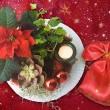 クリスマス飾りの画像