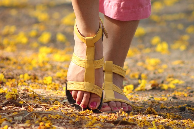 足の冷え性の画像