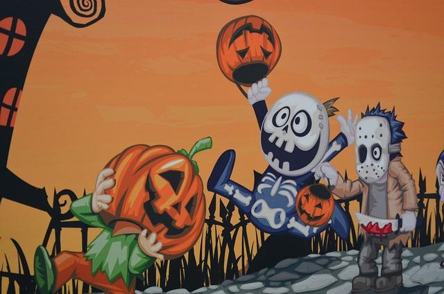 ハロウィンパーティゲームの画像
