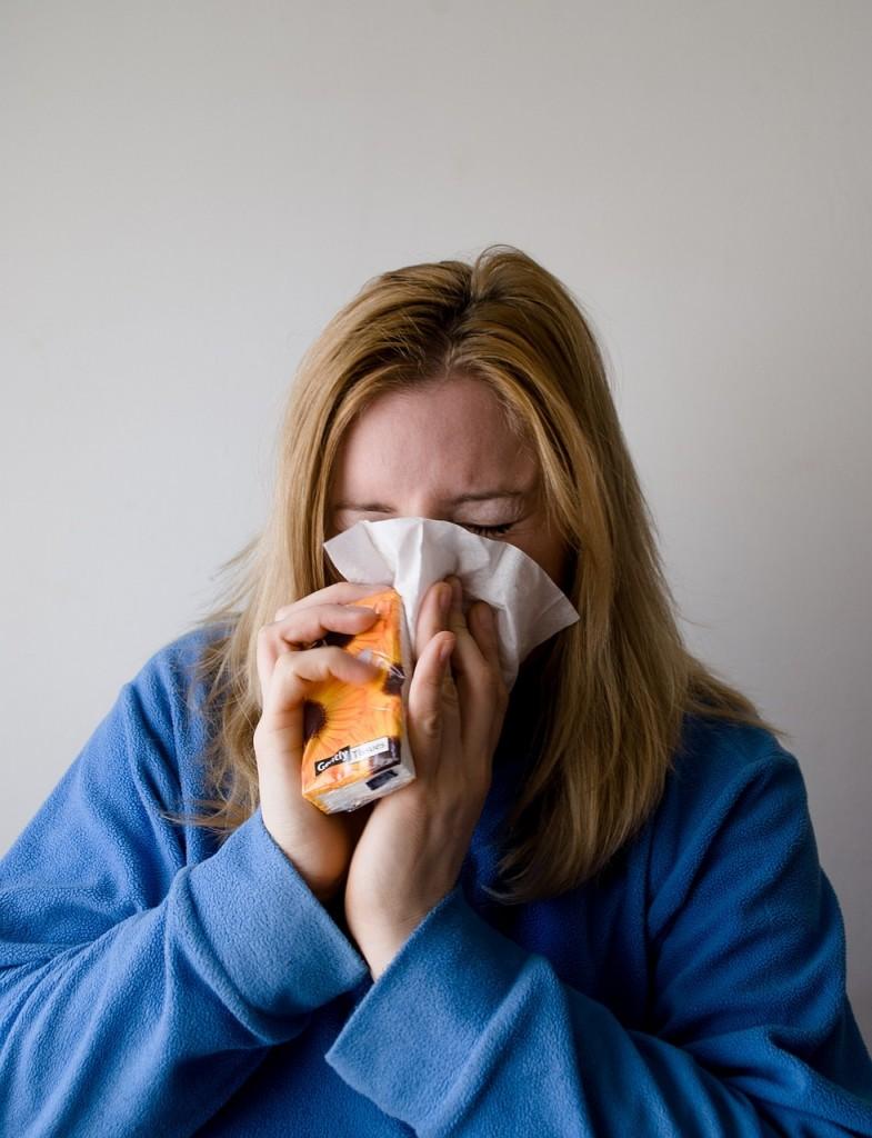 インフルエンザの画像