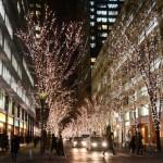 東京クリスマスイルミネーションおすすめ3箇所に酔いしれる