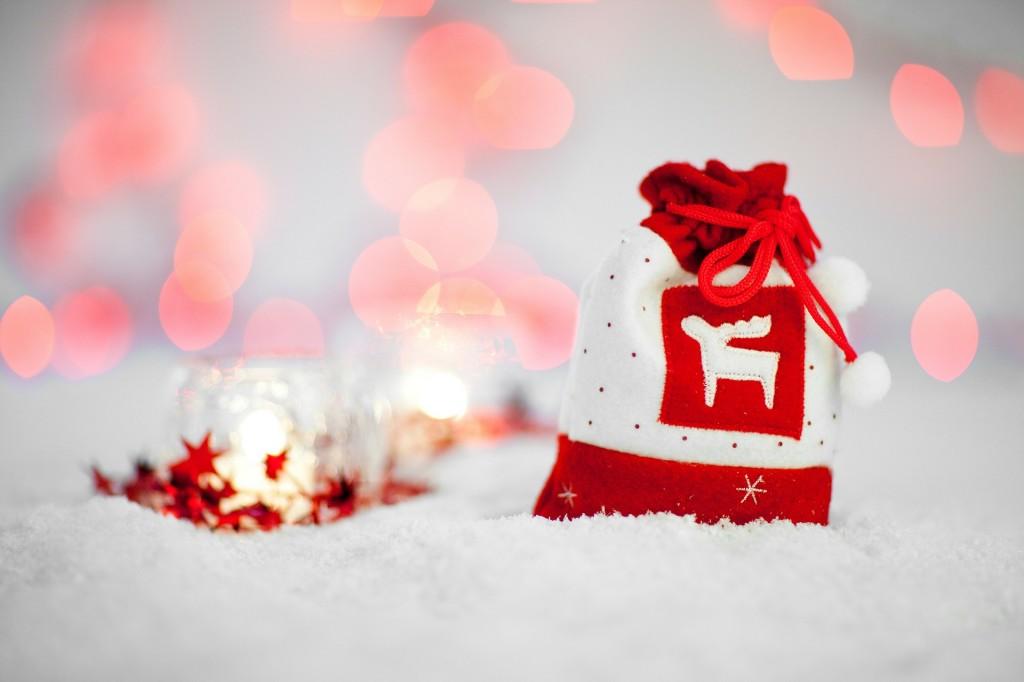 クリスマスバックの画像