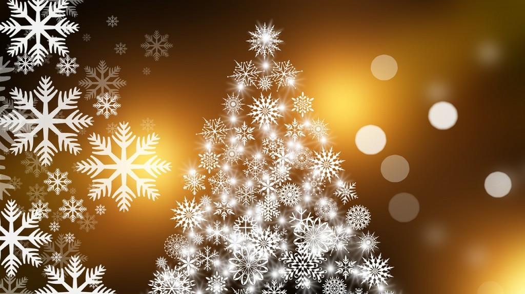 クリスマスツリーのシールの画像