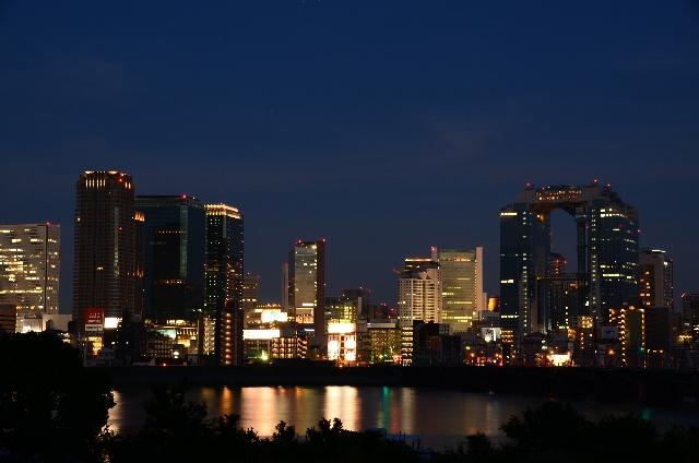 大阪の夜景の画像