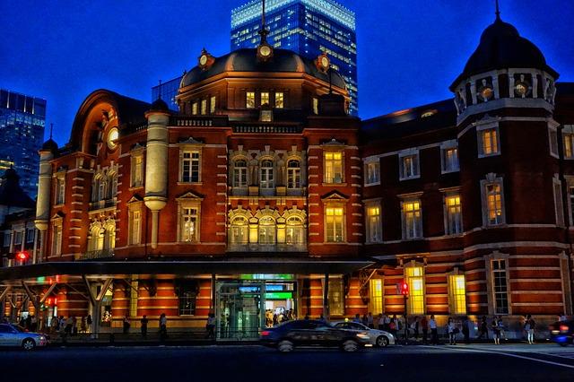 東京駅イルミネーションの画像