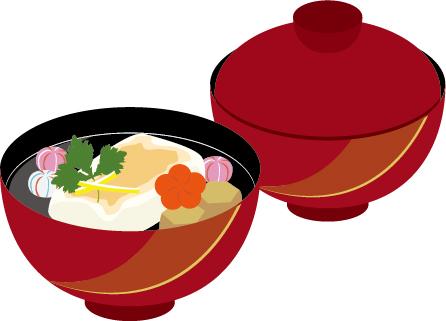 お雑煮の画像