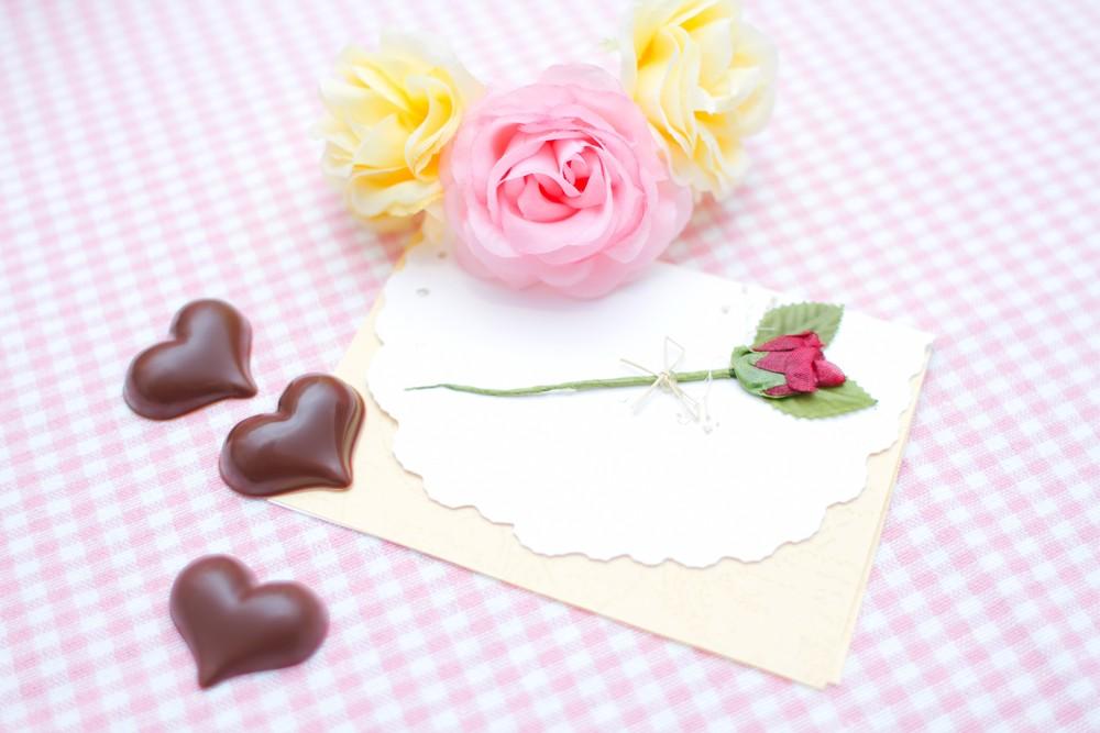 バレンタインの手紙の画像