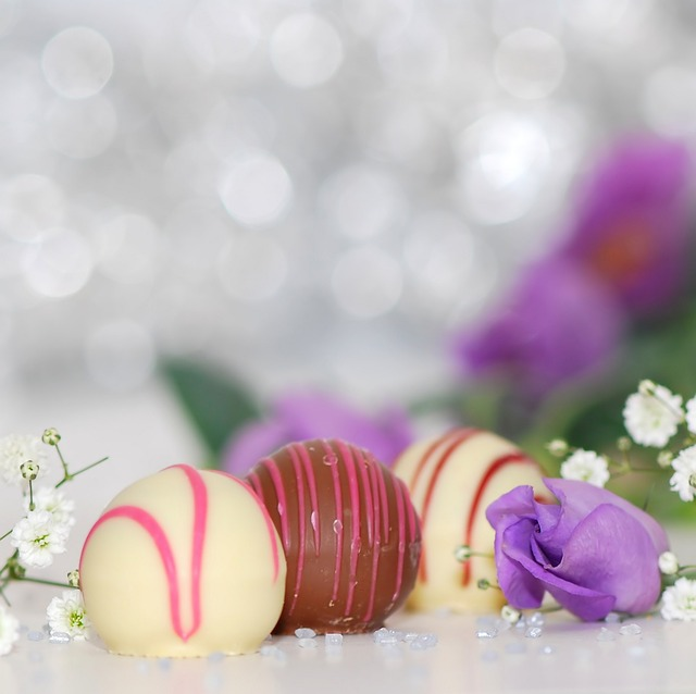 チョコレートボールの画像