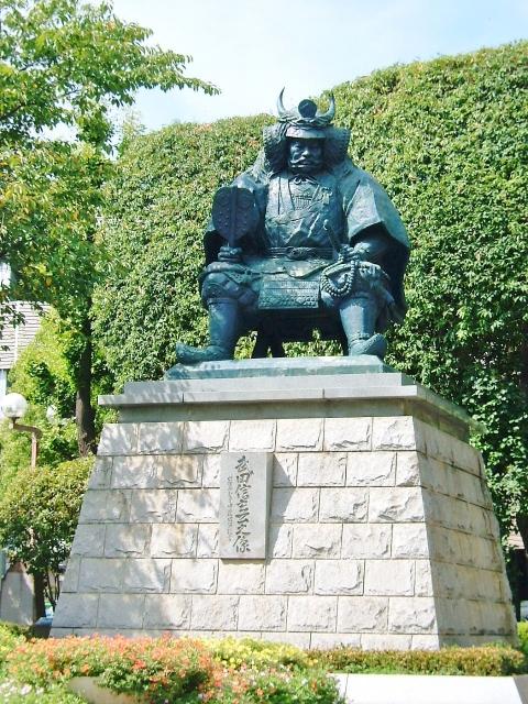 武田信玄公の像の画像