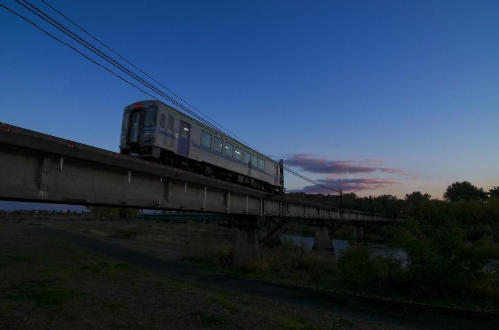 北海道のローカル線の画像
