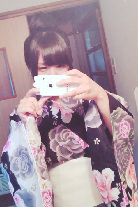 浴衣に似合う髪型の画像