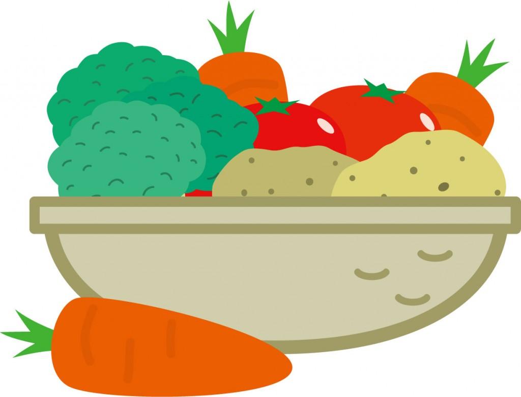 野菜のイラストの画像