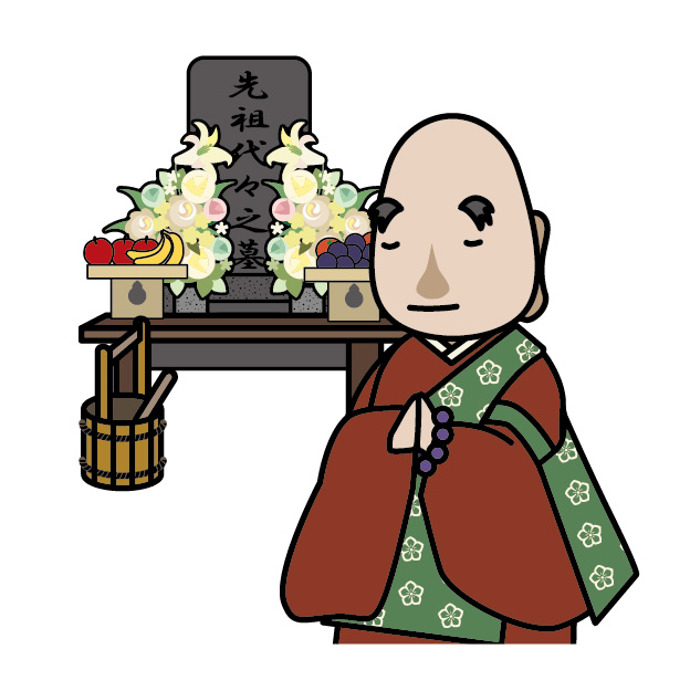 和尚さんの画像