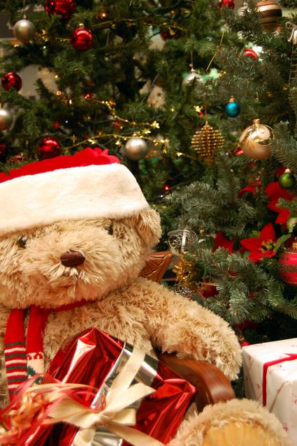 クリスマスベアの画像
