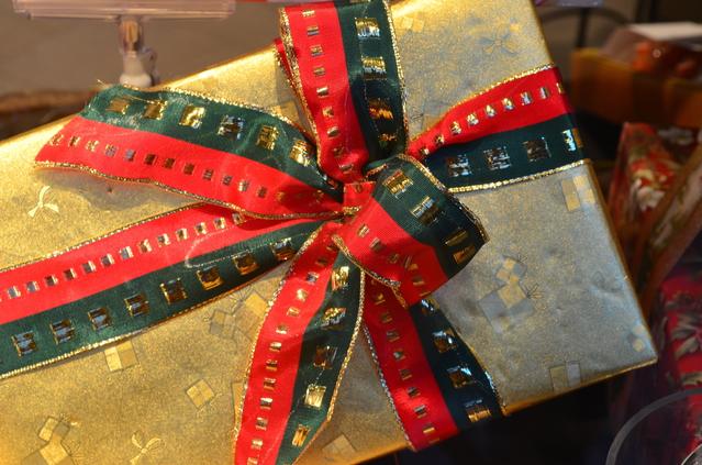 クリスマスプレゼントの画像