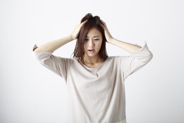 髪の悩みの画像