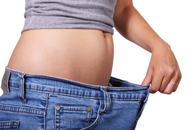 太りにくい体の画像