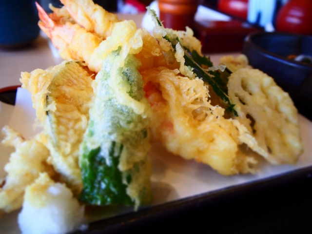 春野菜の天ぷらの画像