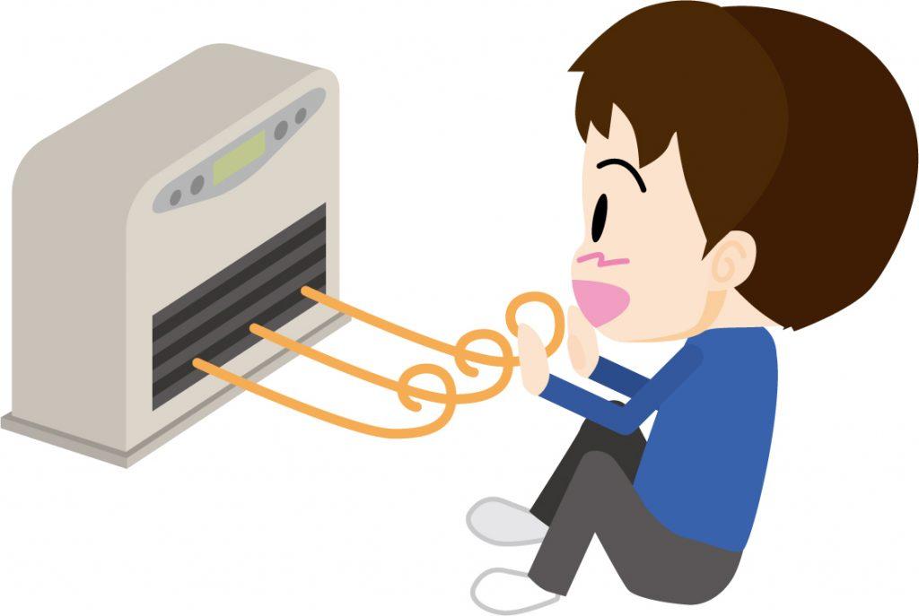 暖房の画像