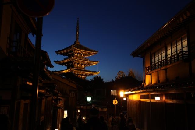 京都イルミの画像